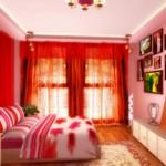 Cách sử dụng hành Hỏa trong phòng ngủ
